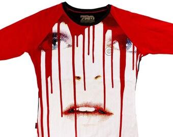 Candy/Dripp Large Ladies Baseball Shirt 1/1 BD033