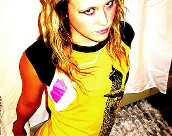 Le Punk Ladies Raglan Shirts