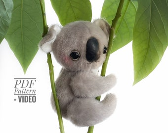 Koala PDF sewing pattern + Video tutorial