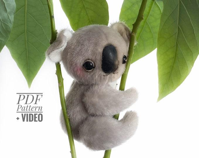 Koala PDF sewing pattern + Video tutorial
