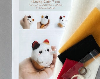 Lucky Cat Sewing Kit