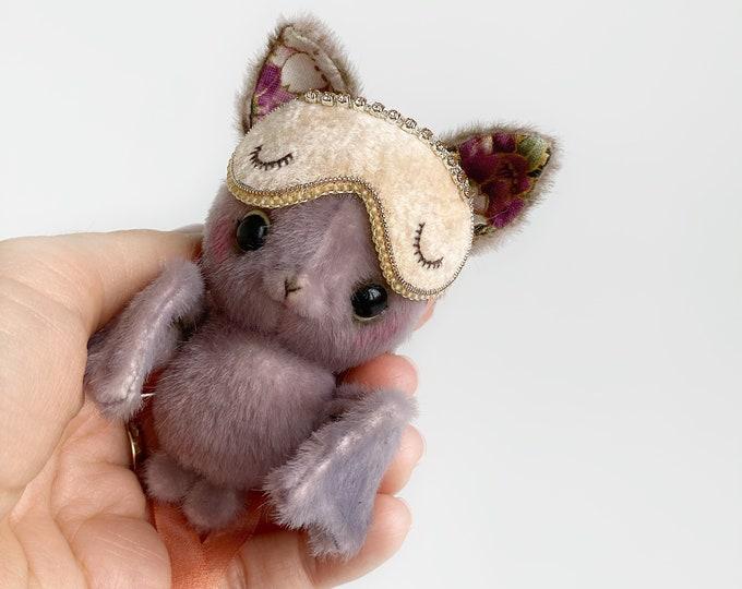 Matt Bat - Artist Miniature Mini toy by TSminibears