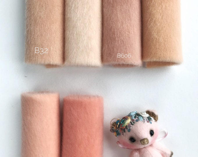 BUTTER No 5 Colors fabric for toys