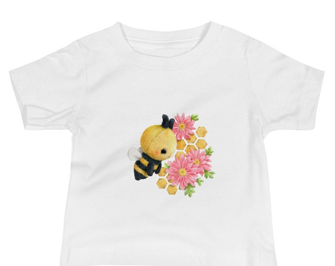 Baby Jersey Short Sleeve Tee Bee
