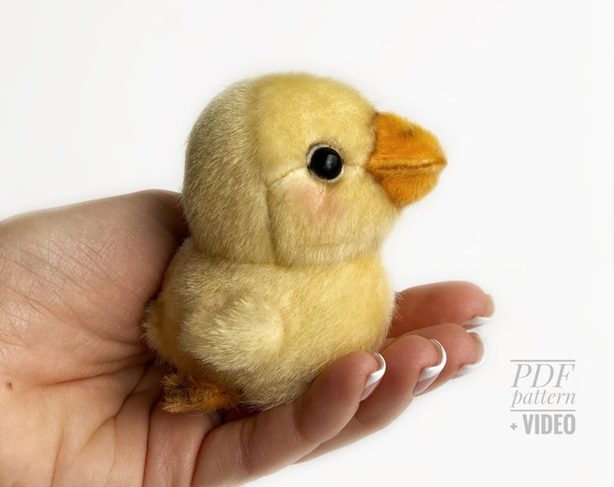 Duck PDF sewing pattern + Video tutorial