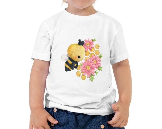 Toddler Short Sleeve Tee Bee