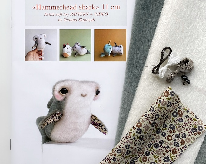 Hammerhead Shark Sewing KIT