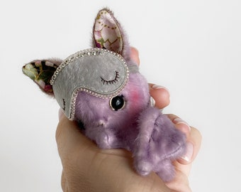 Chris Bat - Artist Miniature Mini toy by TSminibears