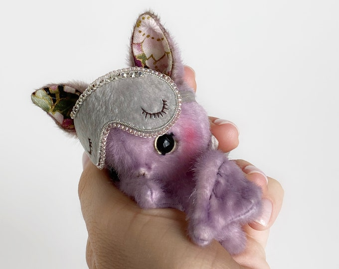 Chris Bat - Artist Miniature Mini toy by TSminibears