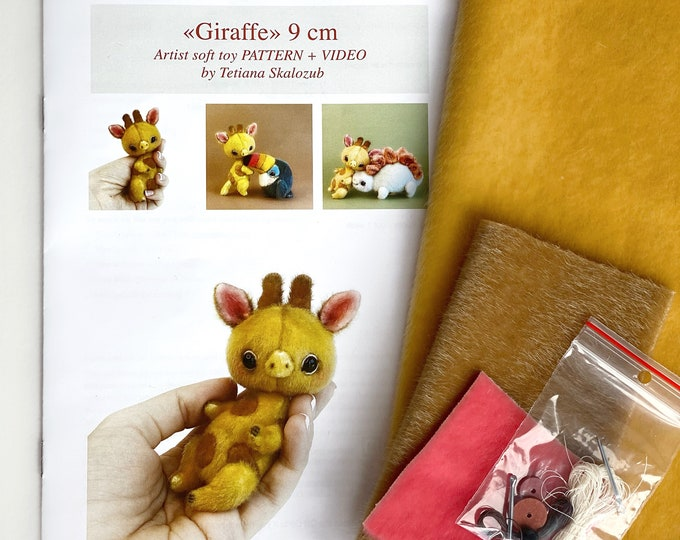 Giraffe - Sewing KIT