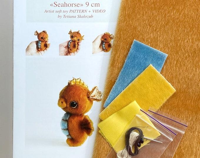 Seahorse - Sewing KIT