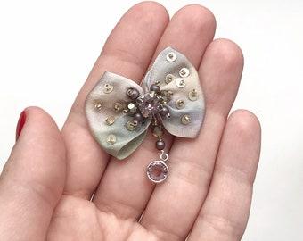Miniature Silk Bow Tutorial