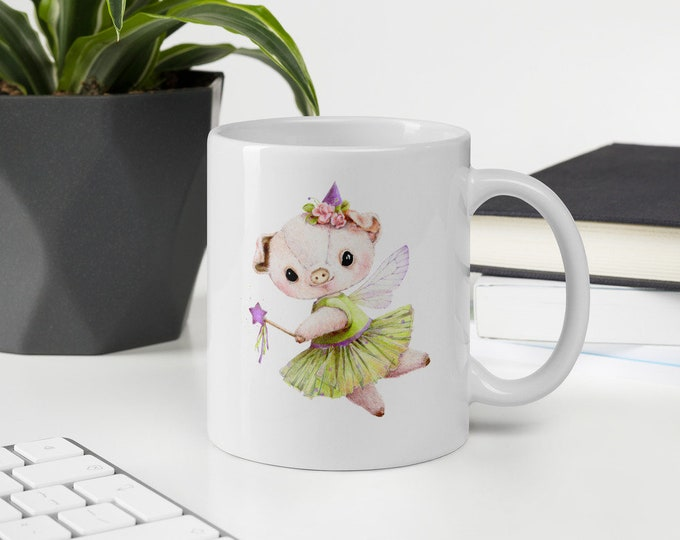 Mug Fairy Pig You are one of a kind