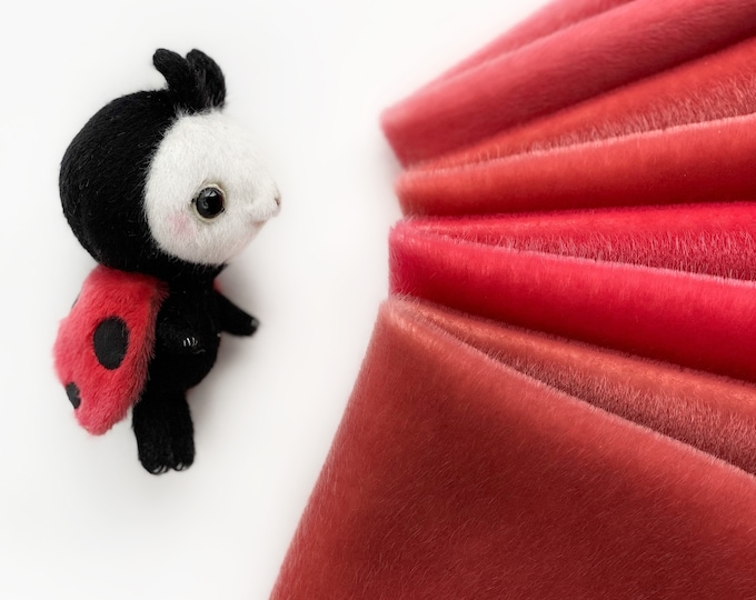 Ninelle Ladybug Colors fabric for toys
