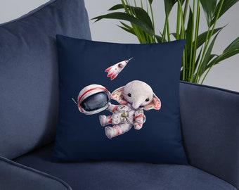 Elephant Spaceman Basic Pillow
