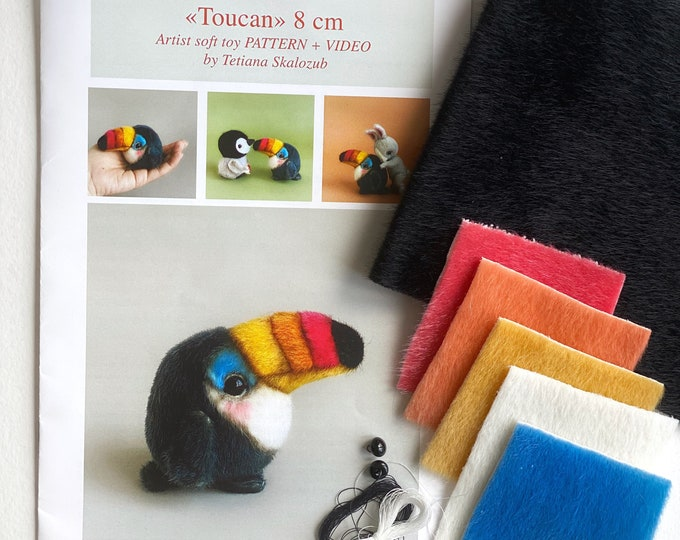 Toucan - Sewing KIT