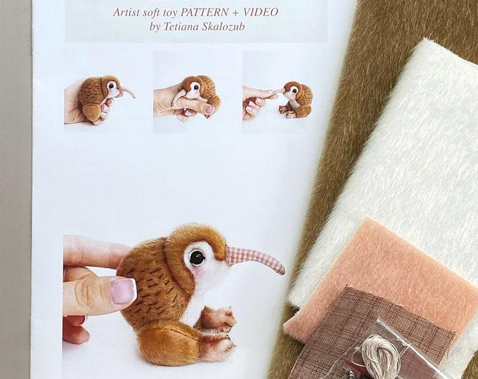 Kiwi Bird - Sewing KIT
