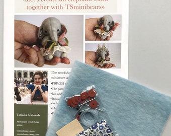 Mira Elephant Sewing Kit