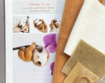 Sloth Sewing Kit