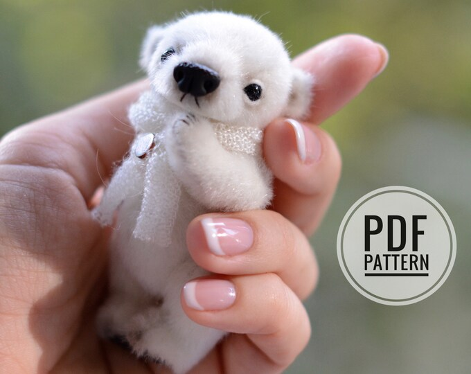Polar Bear PDF sewing pattern only
