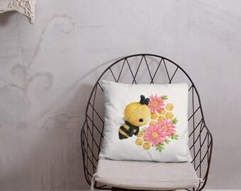 Bee Basic Pillow