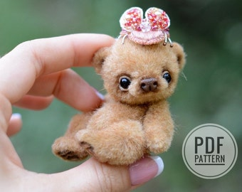 Plushies Workshop (PDF sewing pattern)