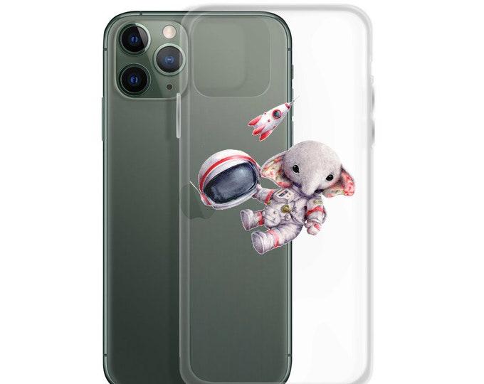 iPhone Case Spaceman Elephant