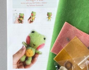 Frog Sewing Kit
