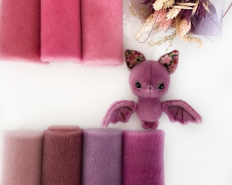 Ninelle Bat Colors fabric for toys