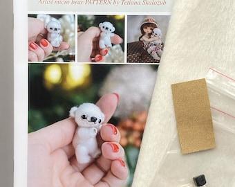 Micro Polar Bear Sewing Kit