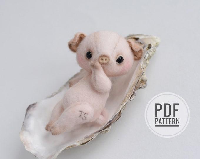 Piggy workshop (PDF sewing pattern)