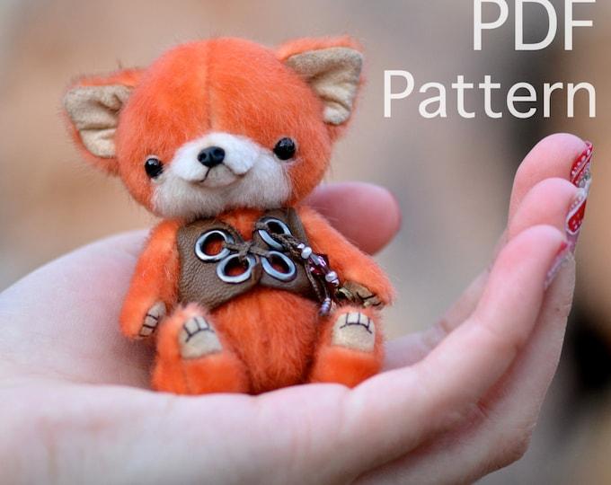Zorro Fox PDF sewing pattern