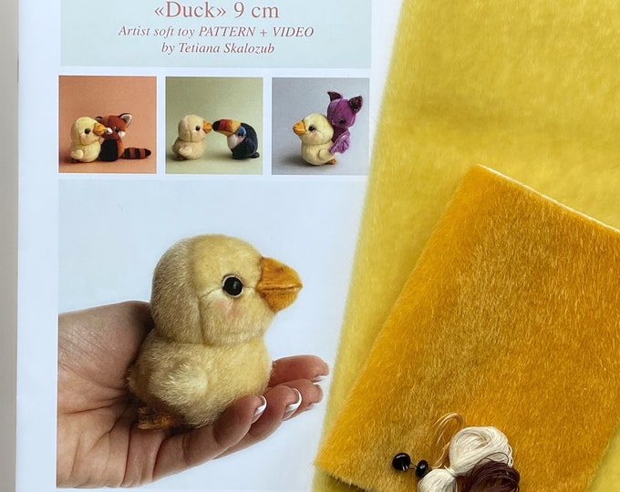 Bath Duck Sewing KIT