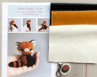 Red Panda Sewing Kit