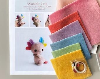 Axolotl Sewing Kit