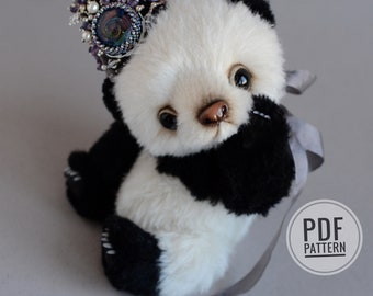 Panda Mo PDF sewing pattern only