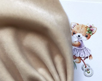 Ninnelle Beige fabric for toys