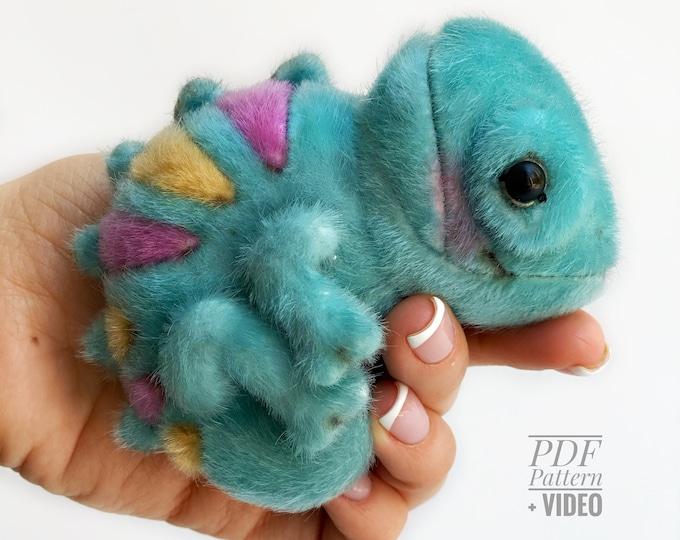 Chameleon PDF sewing pattern + Video tutorial