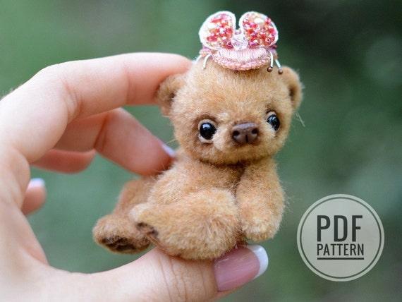 Teddy Miniature BearBy Make Sewing Bear Step StepDiy To Pattern ScalozubBestsellerHow Tatiana Pdf 7yYgfb6