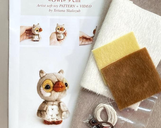 Owl - Sewing KIT