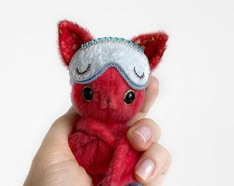 Leonardo Bat - Artist Miniature Mini toy by TSminibears