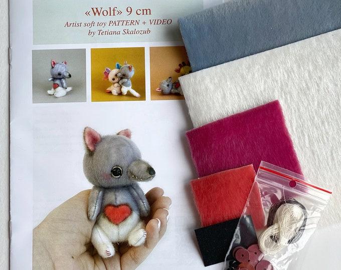 Wolf - Sewing KIT