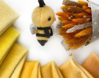 Ninelle Bee Colors fabric for toys