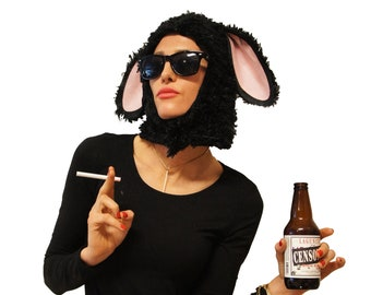 The Original Black Sheep- Funny Pun Adult Halloween Costume perfect as Women's Men's unique creative Halloween Costume Easy & fits all sizes