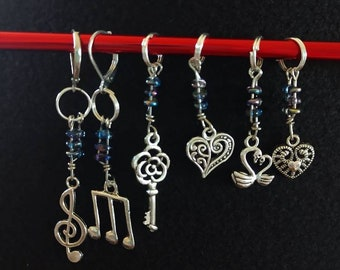 Moonlight Sonata Knitting Stitch Markers