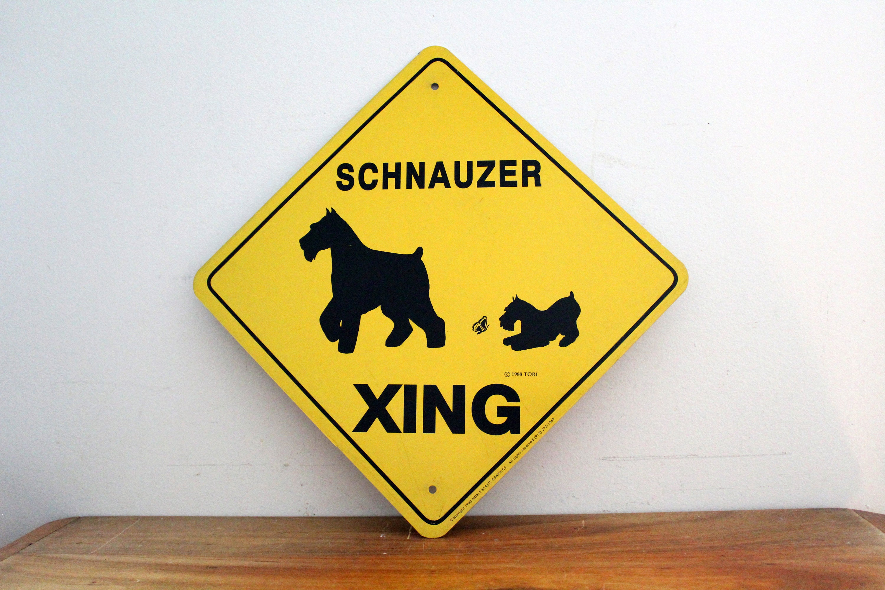 Chow Dog Crossing Xing Sign New