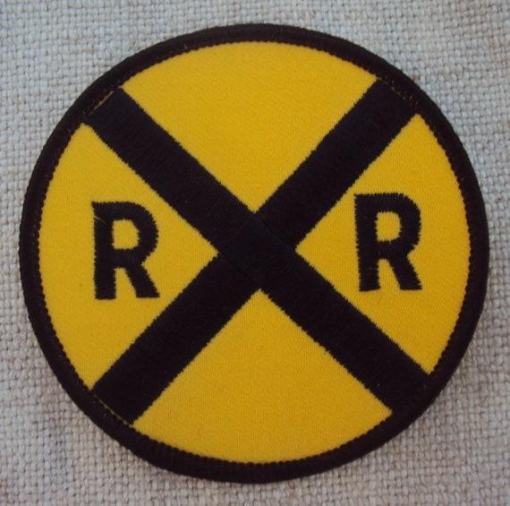 Vintage 1960s The D /& H Railroad Train  Travel Patch