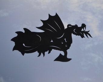 dragon gargoyle for your window