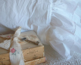 """The French Prairie Collection """"Layered Ruffles"""" Pillowcase Treasury Item"""