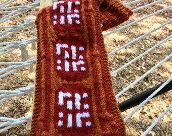 Journey-Inspired Knit Scarf Pattern